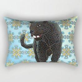 Black Panther Rectangular Pillow