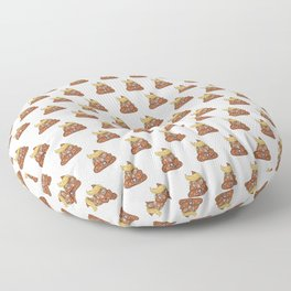 A Whole Lotta Pooliticians - Satirical Art - 57 Montgomery Ave Floor Pillow