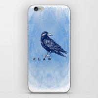 ravenclaw iPhone & iPod Skins featuring WordPlay 2: Ravenclaw by Sreetama Ray