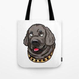 Newfoundland New Foundland Dog Puppy Doggie Tote Bag
