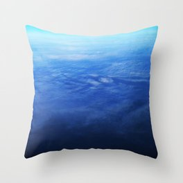 Ombre Arial Throw Pillow