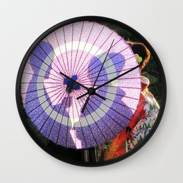 Tokyo Mon Amour Wall Clock