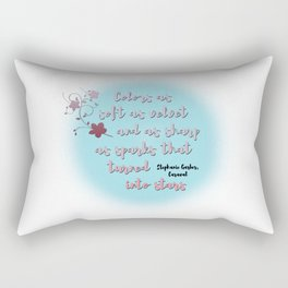 Trapped into stars | Caraval Rectangular Pillow
