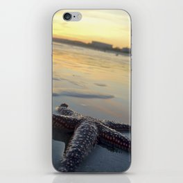 Starfish on the Beach iPhone Skin