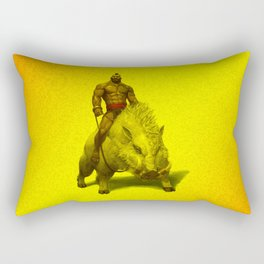 hog rider Rectangular Pillow