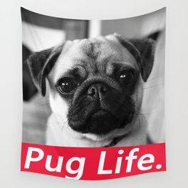 PUG LIFE BOX Wall Tapestry