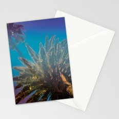 Blue Sky and Palm Trees Stationery Cards