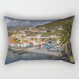 Camara de Lobos Madeira Rectangular Pillow