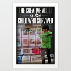 The Creative Adult Art Print