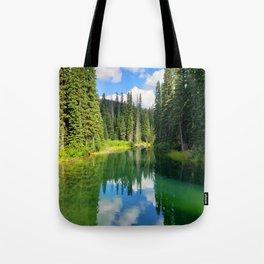 Pacific North West Alpine Lake Tote Bag