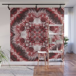 Furious Red Wall Mural