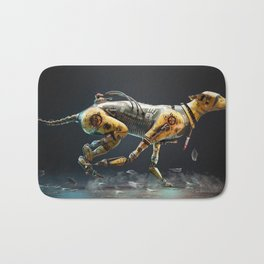 Warrior Dog 641 Bath Mat