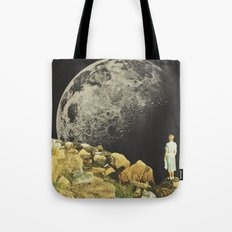Mount Moon Tote Bag