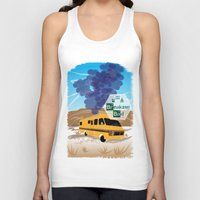 lab Tank Tops featuring Breaking Bad Lab by famenxt