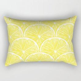 Lemon slices pattern design II Rectangular Pillow