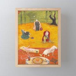 Florine Stettheimer - Heat, 1919 Framed Mini Art Print