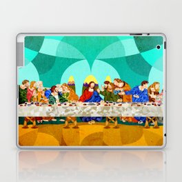Curves - Last Supper Laptop & iPad Skin
