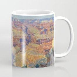 Grand Canyon Landscape Painting by William R. Leigh Coffee Mug