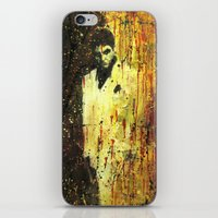 scarface iPhone & iPod Skins featuring Tony Montana in Scarface by Miquel Cazanya