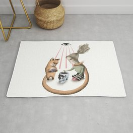 The Fitcher's bird six Rug