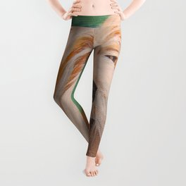 Terrier Portrait Leggings