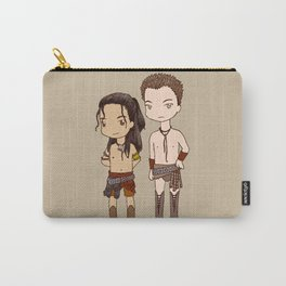 Chibi Nagron (Agron & Nasir, Spartacus) Carry-All Pouch