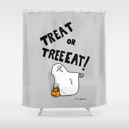 treat or treat! Shower Curtain