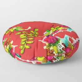 Bloom Where You Are Planted Floor Pillow