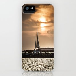 Sunset Sailing  iPhone Case