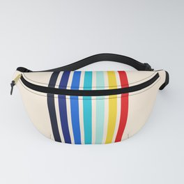 Classic 70s Style Retro Stripes - Inera Fanny Pack