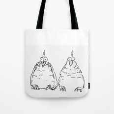 Two Speckled Hens Tote Bag