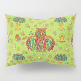 Owl, cool art from the AlphaPod Collection Pillow Sham