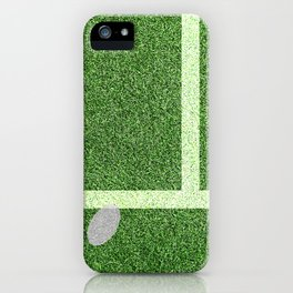 """""""IN"""" – Hawk-Eye - Green iPhone Case"""