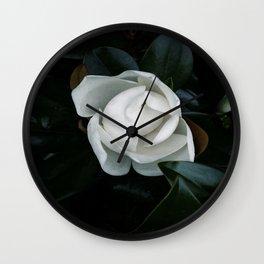 Becoming - Southern Magnolia Wall Clock