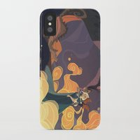 mother of dragons iPhone & iPod Cases featuring Mother of dragons by Ann Marcellino
