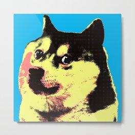 Doge Pop Metal Print