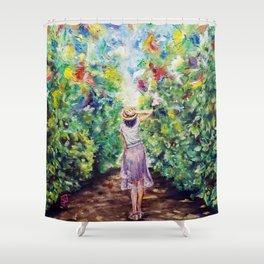 A Midsummer Day's Dream Shower Curtain