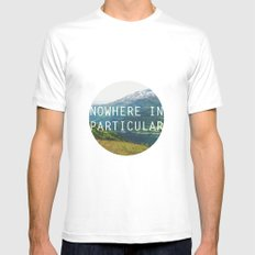 nowhere in particular Mens Fitted Tee MEDIUM White