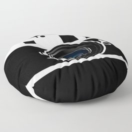 Camera Lens Floor Pillow
