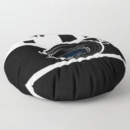 Camera Lens Floor Pillow