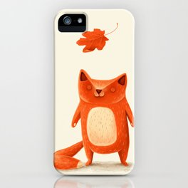 I am autumn (1) iPhone Case