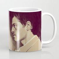 destiel Mugs featuring Destiel. I see Darkness by Armellin