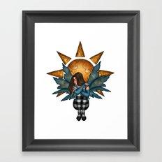 Giver of Light Framed Art Print