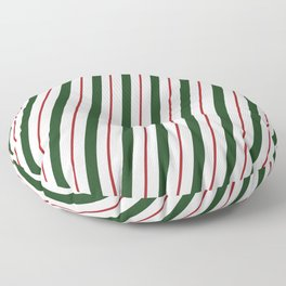 Peppermint Candy Cane Floor Pillow