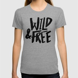Wild and Free x Gold and Navy T-shirt