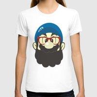 mario T-shirts featuring Mario bro by Beardy Graphics