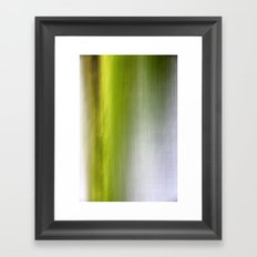 Abstract Reedbed Framed Art Print