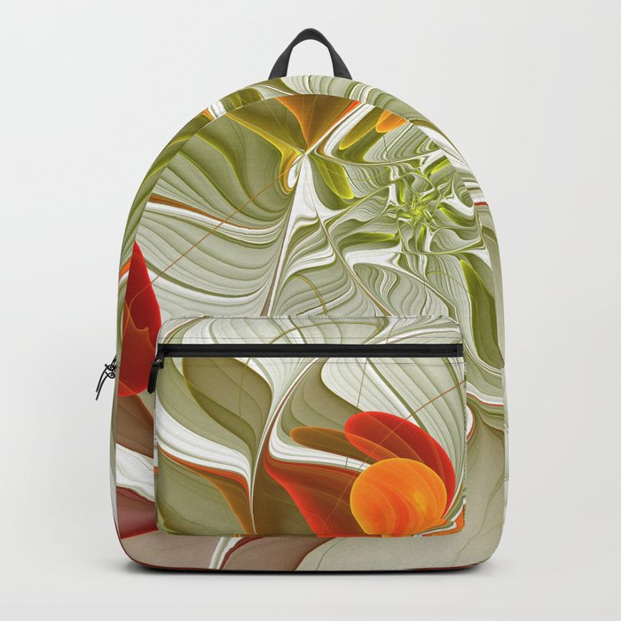 Fractal Art Bring Color Into Your Life Backpack