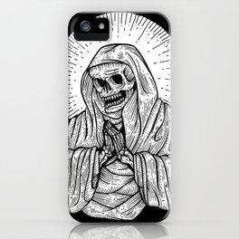 praying for death iPhone Case
