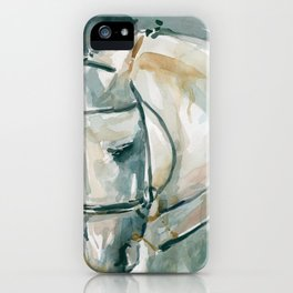 Horse Watercolor Bound For Home iPhone Case